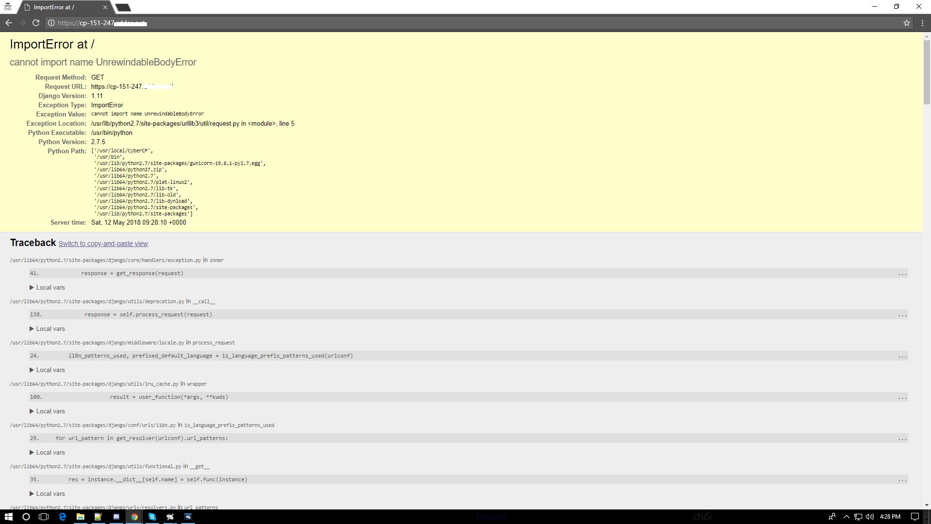 Run multiple Python versions on system — CyberPanel - WebHosting